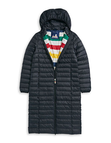 HudsonS Bay Company Packable Down Jacket - Maxi   Women-BLACK-X-Large