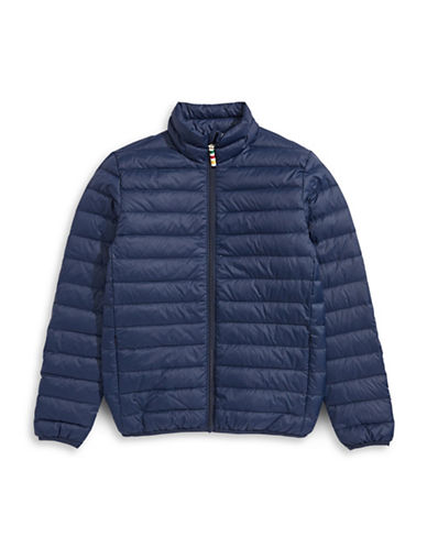 HudsonS Bay Company Packable Down Jacket - Bomber - Men-NAVY-Medium