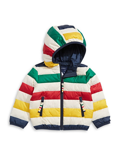 HudsonS Bay Company Packable Down Jacket - Kids-MULTI-5