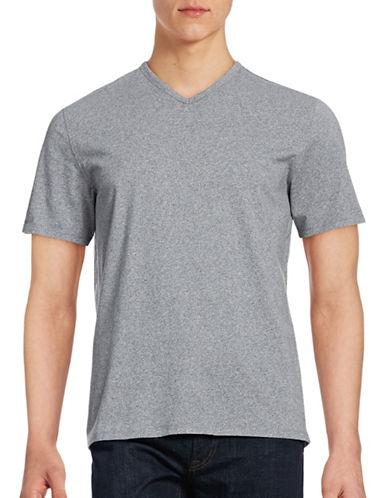 Black Brown 1826 Cotton Jersey Knit Tee-WHITE-X-Large 88672294_WHITE_X-Large