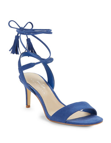 424 Fifth Giovanna Suede Sandals-COBALT BLUE-7.5