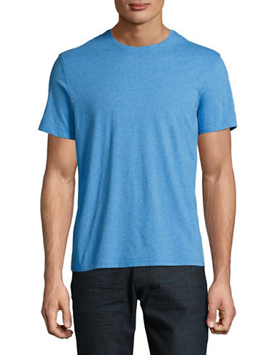 Black Brown 1826 Super Soft Crew Neck T-Shirt-COAST BLUE-X-Large