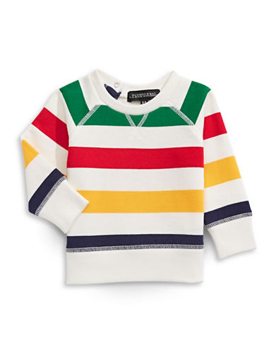 HudsonS Bay Company Baby Sweatshirt-MULTI-COLOURED-6-12 Months