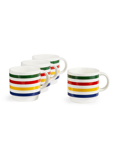 Hudson'S Bay Company Set of Four Stacking Mugs-MULTI-One Size