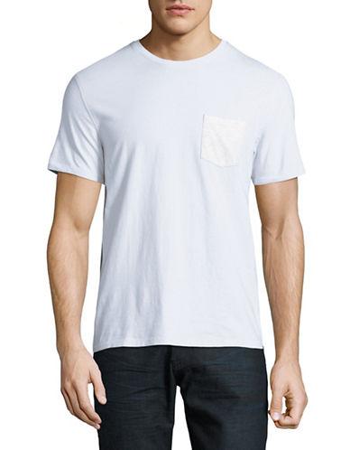 Black Brown 1826 Super Soft Pocket T-Shirt-LIGHT BLUE-XX-Large