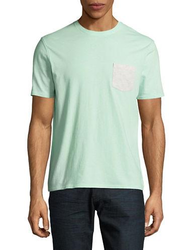 Black Brown 1826 Super Soft Pocket T-Shirt-GREEN-XXX-Large