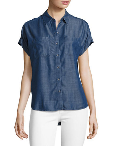 Lord & Taylor Addy Shirt-MEDIUM INDIGO-Large
