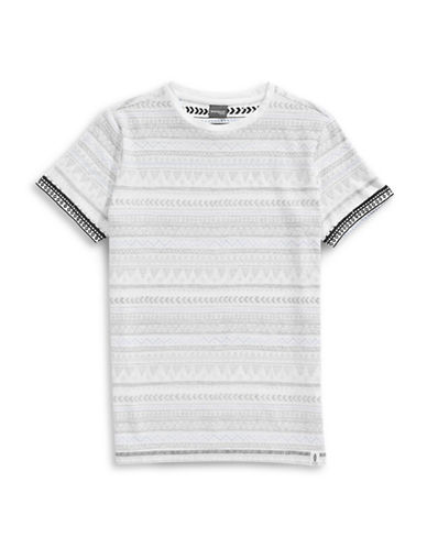 Manguun Inside Print T-Shirt-BLACK-Medium 88882165_BLACK_Medium