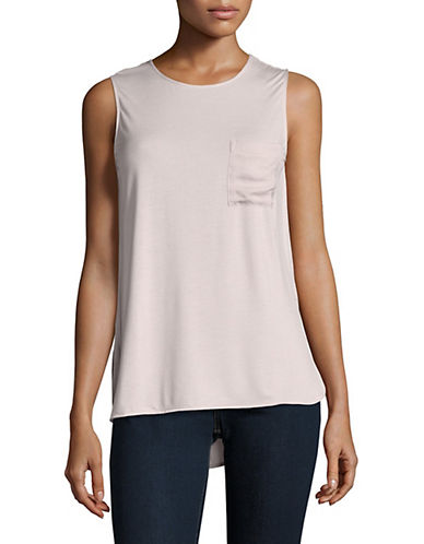 Lord & Taylor Hi-Lo Tank-HUSHED VIOLET-Medium