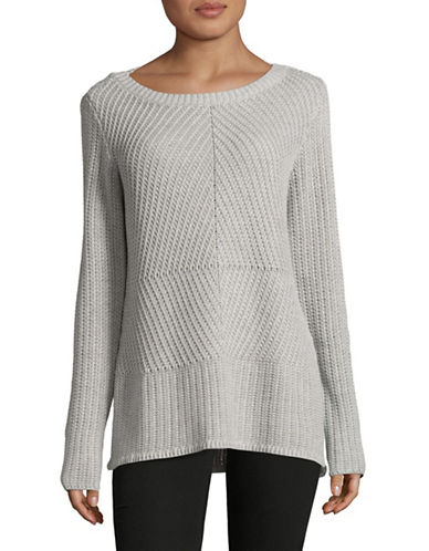 Highline Collective Novelty Stitch Sweater-GREY-Small 88874541_GREY_Small