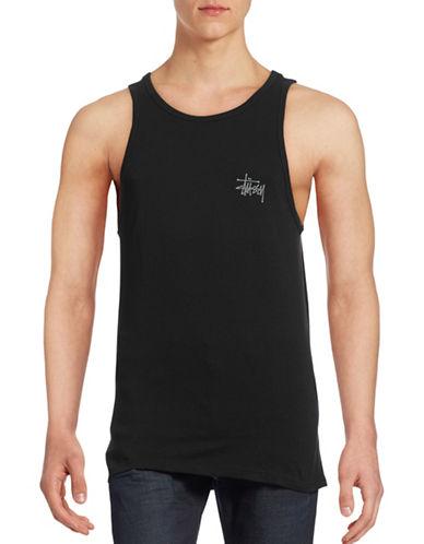 Stussy Basic Logo Tank-BLACK-Medium 88438305_BLACK_Medium
