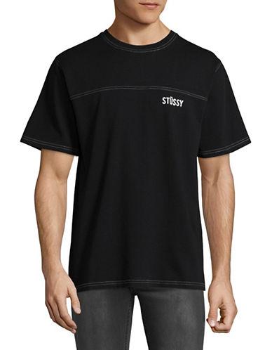 Stussy Football Jersey Tee-BLACK-X-Large 88980989_BLACK_X-Large
