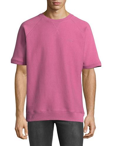 Stussy Short-Sleeve Sweatshirt-PINK-Small 88981018_PINK_Small