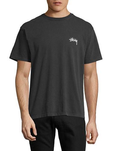 Stussy Pigment Dye Dice T-Shirt-BLACK-Medium