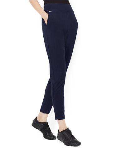 Lauren Ralph Lauren Jersey Ankle Pant-NAVY-Small 87946029_NAVY_Small