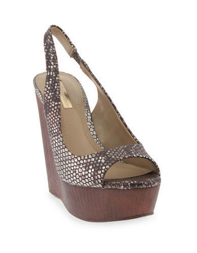 Bcbgeneration Haven Snake-Look Wedges-GOLD-9