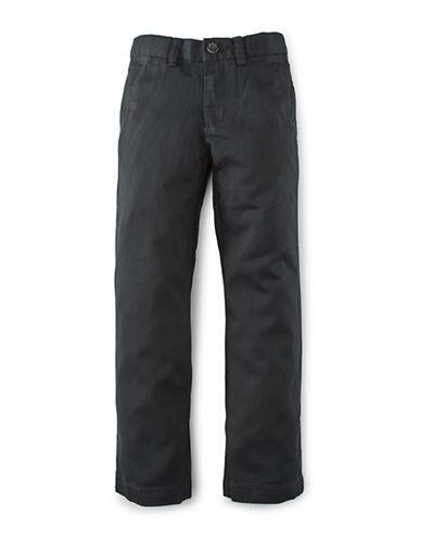 Ralph Lauren Childrenswear Chino Suffield Button Pants-POLO BLACK-5