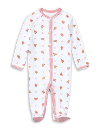Ralph Lauren Childrenswear Bear-Print Cotton Coverall-WHITE-Newborn