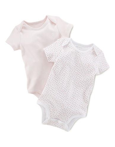 Ralph Lauren Childrenswear Short Sleeved Bodysuits-WHITE-Newborn 87718003_WHITE_Newborn