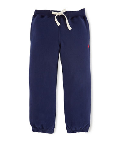 Ralph Lauren Childrenswear Drawstring Sweatpants-NAVY-6