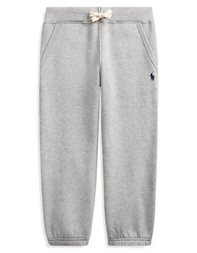Ralph Lauren Childrenswear Drawstring Sweatpants-HEATHER-5 87891754_HEATHER_5