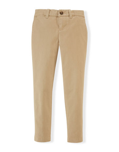Ralph Lauren Childrenswear Skinny Chinos-KHAKI-3T