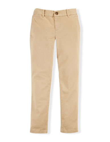 Ralph Lauren Childrenswear Skinny Chinos-KHAKI-10