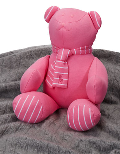 Ralph Lauren Childrenswear Plush Teddy Bear-PINK-One Size