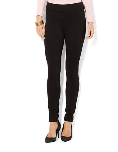 Lauren Ralph Lauren Ponte Legging-BLACK-X-Small 88066815_BLACK_X-Small