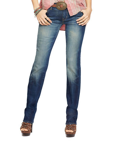 Denim & Supply Ralph Lauren Straight-Fit Sanford Jeans-BLUE-24
