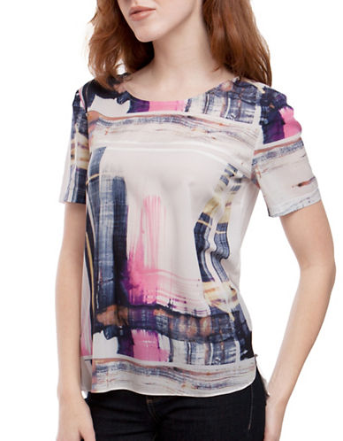 French Connection Cornell Crepe Top-PINK-X-Small 88977482_PINK_X-Small