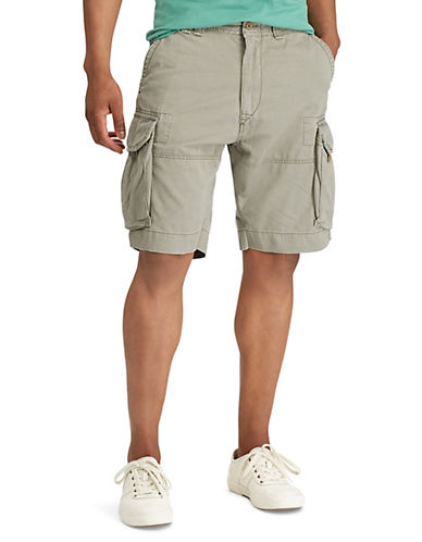 Polo Ralph Lauren Geller Cargo Shorts-MOUNTAIN GREEN-36