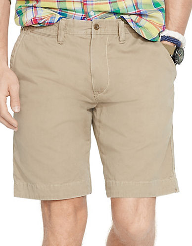 Polo Ralph Lauren Relaxed Fit Twill Surplus Short-BOATING KHAKI-32