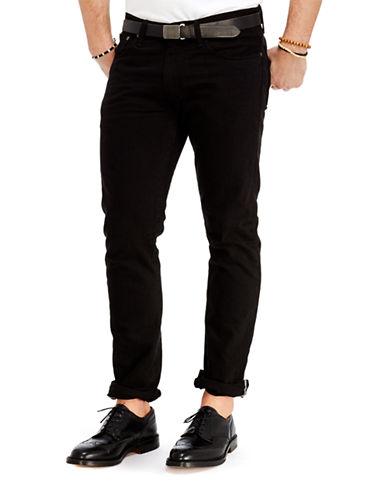 Polo Ralph Lauren Varick Slim-Straight Hudson Jeans-HUDSON BLACK-40X30