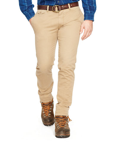 Polo Ralph Lauren Slim-Fit Bedford Chino Pants-GRANARY TAN-40X30