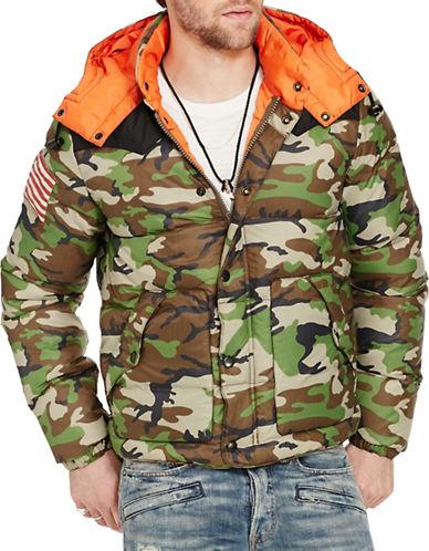 Denim & Supply Ralph Lauren Camo Ripstop Down Jacket-GREEN-Large 88508785_GREEN_Large