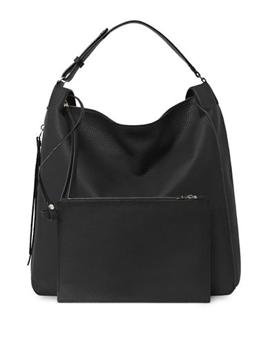 Allsaints Kita Leather Backpack-BLACK-One Size
