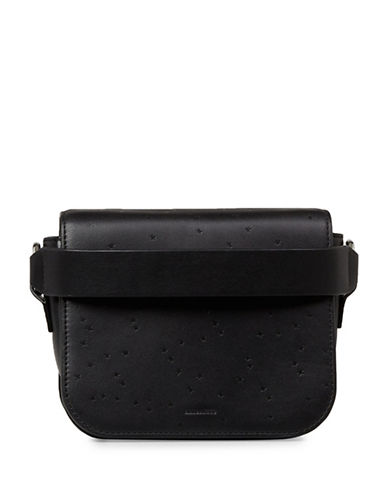Allsaints Echo Clutch-BLACK-One Size