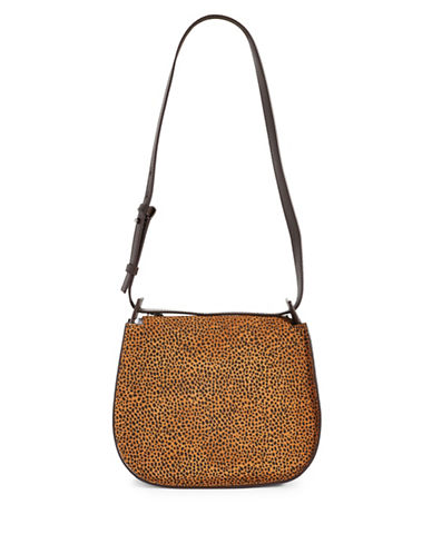 Allsaints Echo Mini Leather Hobo-CARAMEL-One Size