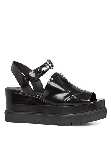 Allsaints Gino Platform Sandals-BLACK-EUR 40/US 10