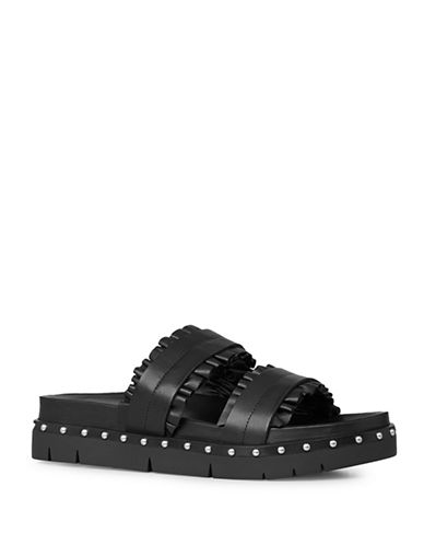 Allsaints Alanna Studded Sandals-BLACK-EUR 40/US 10