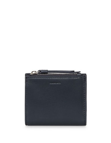 Allsaints Kanda Leather Wallet-MARINE BLUE-One Size