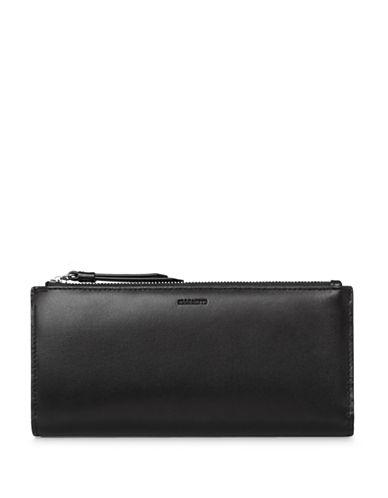 Allsaints Kanda Leather Wallet-BLACK-One Size