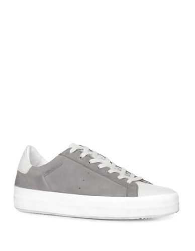 Allsaints Safia Leather and Suede Sneakers-CEMENT-5