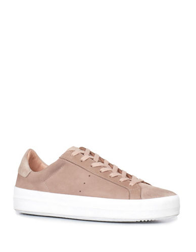 Allsaints Safia Leather and Suede Sneakers-SEPIA PINK-6