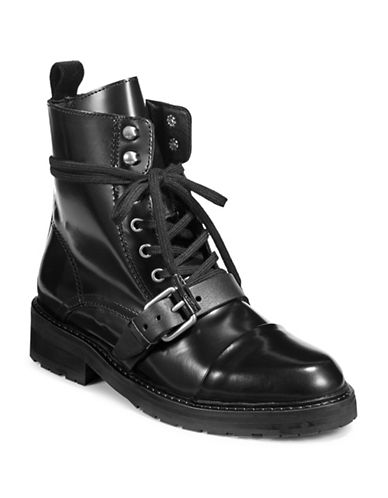 Rag & Bone Leather Combat Boots 89552274