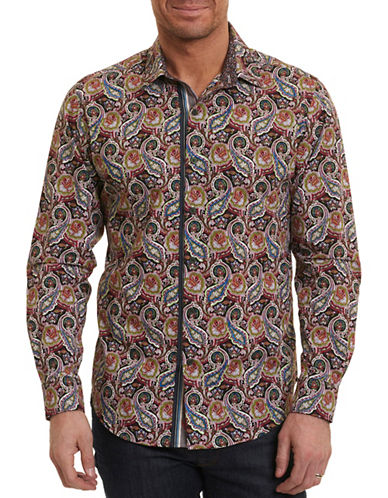 Robert Graham Paisley Sport Shirt-MULTI-COLOURED-XX-Large