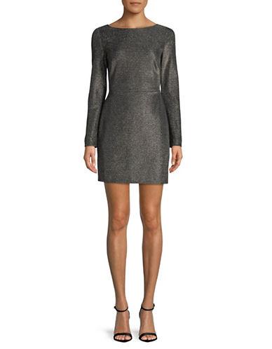 Diane Von Furstenberg Fitted Mini Dress-BLACK-4