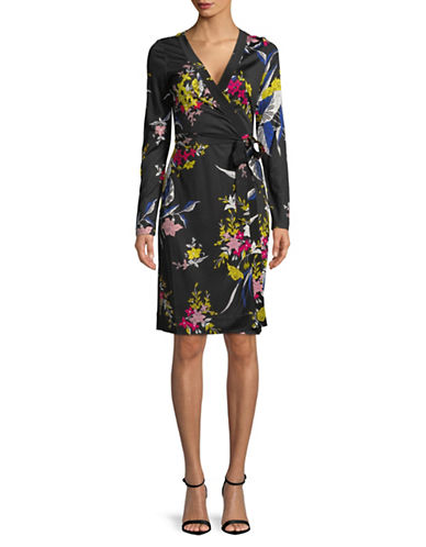 Diane Von Furstenberg Julian Silk Wrap Dress 89968544