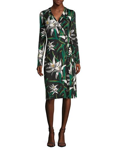 Diane Von Furstenberg Cybil Silk Wrap Dress 89968479